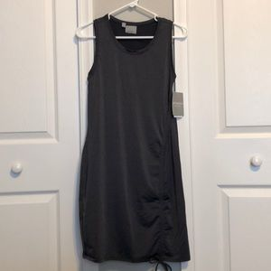 Athleta grey Lycra pool coverup/dress. Size XS NWT